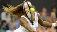 Serena Williams, Novak Djokovic advance at Wimbledon