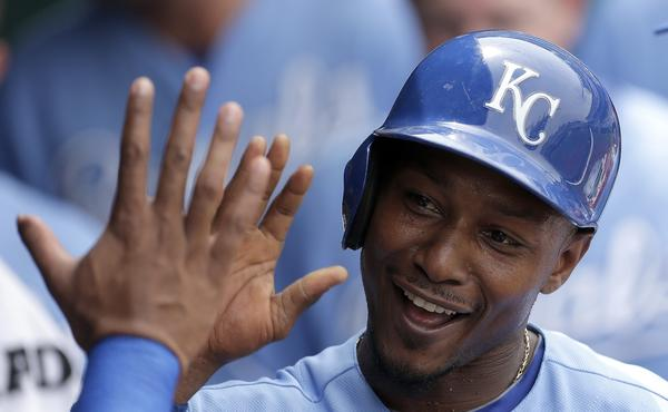 Kansas City Royals outfielder Jarrod Dyson is back to stealing bases again after a month-long absence due to injury.