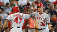 Boxscore: Angels vs. Astros