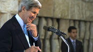 Palestinians say Kerry's diplomatic trip ends with no breakthrough