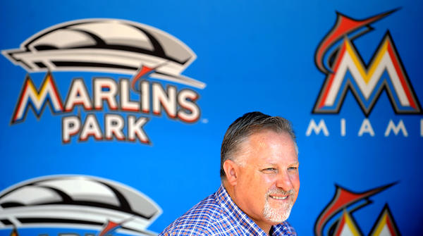 Marlins President of Baseball Operations Larry Beinfest mum on possible Ricky Nolasco deal. Robert Duyos Sun-Sentinel