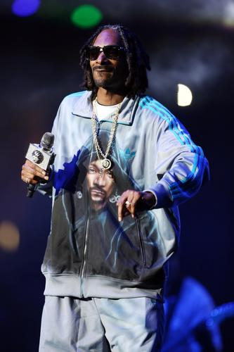 Rapper Snoop Dogg performs during the Snoop Dogg, Kendrick Lamar, J. Cole, Miguel and Schooboy Q concert at Staples Center, part of the 2013 BET Experience.