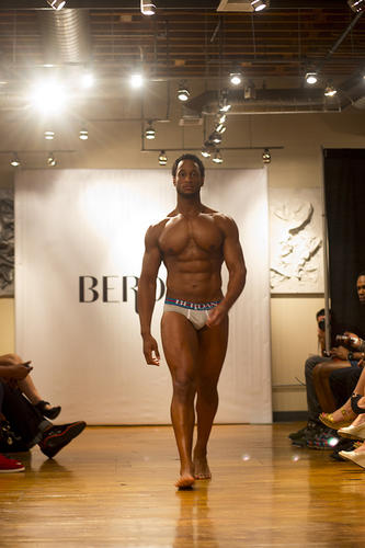 The premier of Berdan New York Men's Intimate Apparel included 30 looks and was created by Julius Martin. The show took place at Society Art Gallery on Saturday, June 29.
