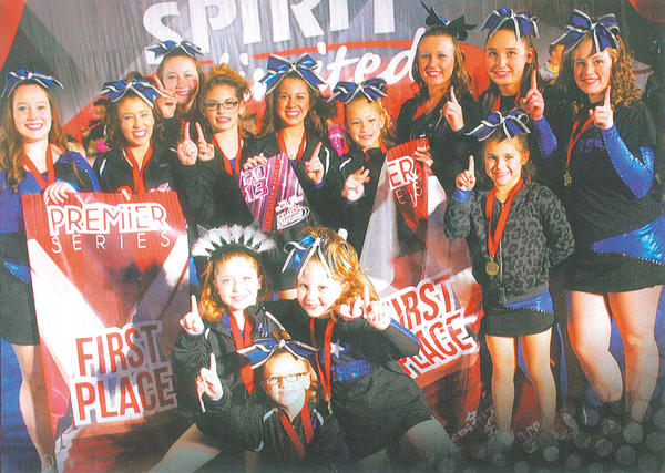 Front row, from left, Carly Rice, Caylee Carter, Natalie Cope and Ella Nelson. Back row, Morgan Barkdoll, Abigail Carter, Savannah Barton, Brianna Wright, Caitlyn Warrenfeltz, Paisley Miller, Amber Sisk, Jenny Delauter and Cami Thompson.