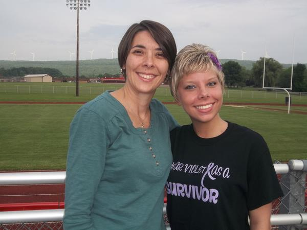 Chalyce Howsare, 21, of Meyersdale will serve as this years guest speaker for the 7th annual Meyersdale Relay For Life, July 12 and 13, at Meyersdale track and field. Howsare will tell the story of surviving Hodgkins Lymphoma this past year. She is pictured with her older sister, Bree Yoder.