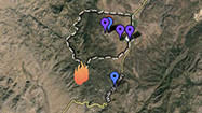 Interactive map: Yarnell Hill fire