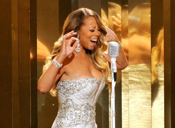 Mariah Carey at the 2013 BET Awards