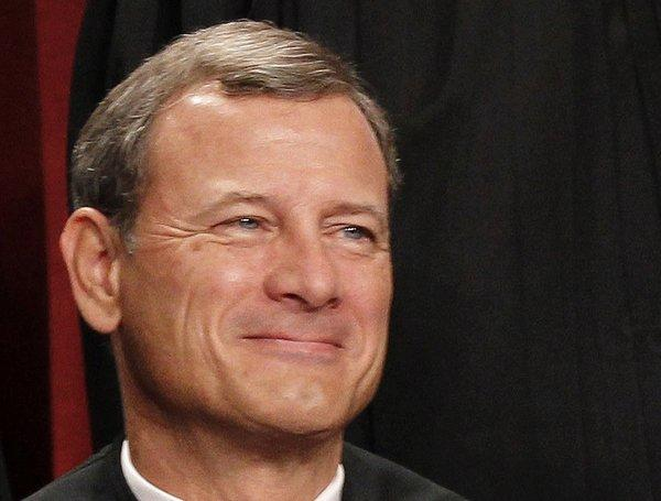 Chief Justice John G. Roberts Jr. raised the possibility of a federal law recognizing same-sex couples.