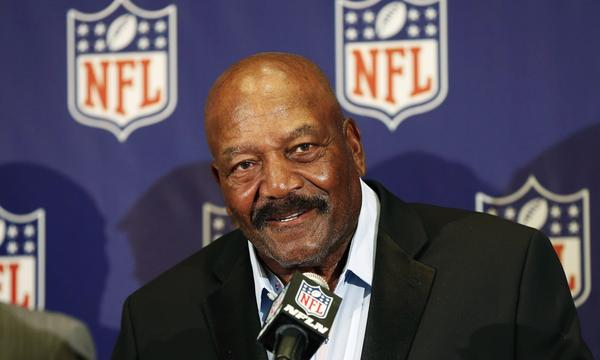 NFL great Jim Brown understands that the game of football has its risks, but says the sport made him a better person.