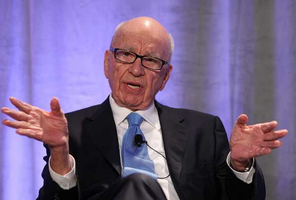 Fox Chief  Executive Rupert  Murdoch