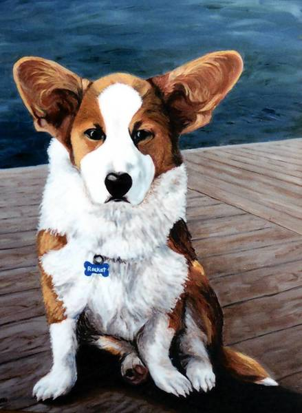 The Painted Pet Studio creates portraits from pictures.
