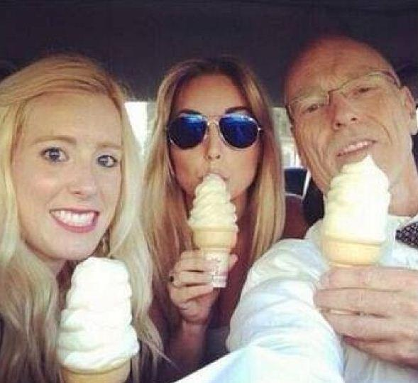 """Molly West, the daughter of George Zimmerman's attorney Don West, caused a stir by posting this photo to her Instagram account, which has since been deleted, with the caption """"We beat stupidity celebration cones ... #zimmerman #defense #dadkilledit"""""""