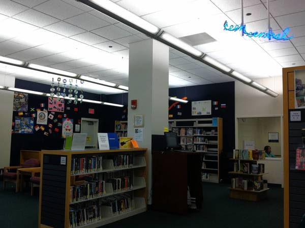 The teen section of the Downers Grove Library is slated for redesign and expansion in the upcoming $2.4 million renovation.