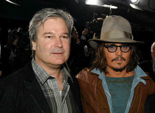 Johnny Depp and Gore Verbinski