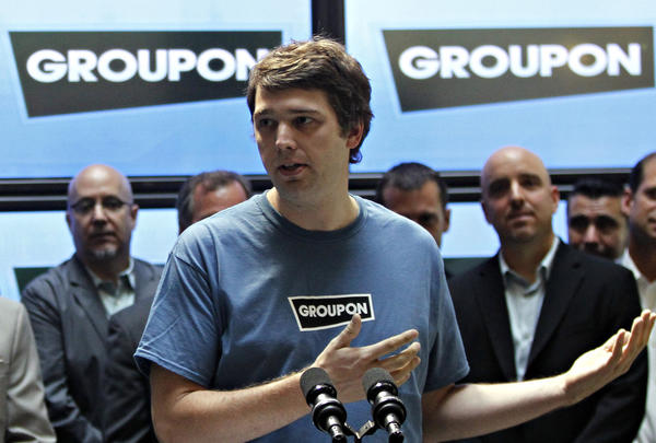 Groupon CEO Andrew Mason speaks about Mayor Daley's committee on technology infrastructure in 2010.