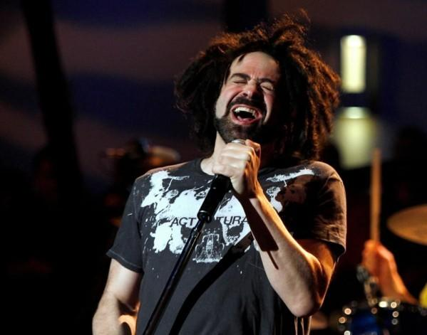 Adam Duritz of the band Counting Crows performs as part of Nissan Live Sets on Yahoo! Music in Los Angeles March 31, 2008.