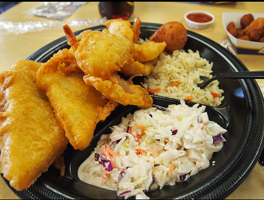 Long john silver 39 s winner of the 39 worst restaurant meal for Long john silver s fish and chips