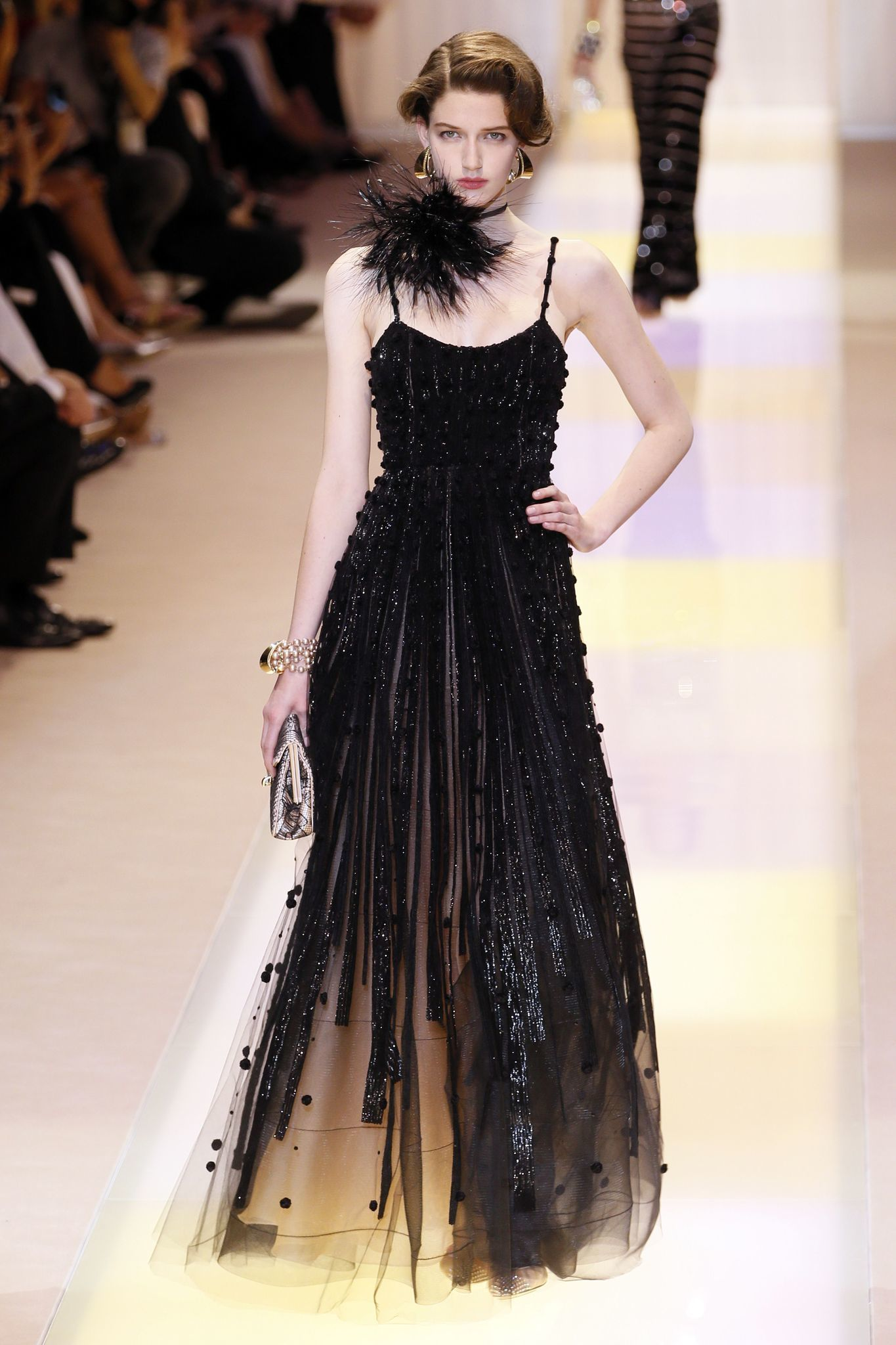 Armani paris fashion week haute couture fall winter 2013 for La couture clothing