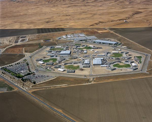 Avenal State Prison, one of two prisons under a federal court order to move inmates at risk of valley fever.