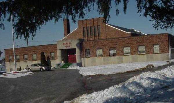 Waynesboro's former armory off Pa. 316/Grant Street is one of 11 Pennsylvania National Guard buildings being put up for sale under legislation awaiting Gov. Tom Corbetts signature.