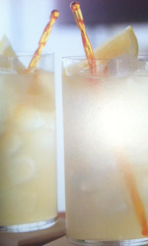 The green tea Arnold Palmer adds a twist to a classic recipe.