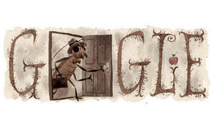 Franz Kafka's 130th birthday doodle: His metamorphosis to great author