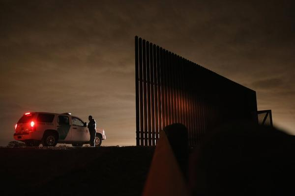 U.S. Border Patrol agents in Texas