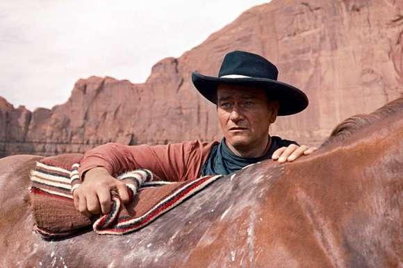 John Wayne in 'The Searchers'