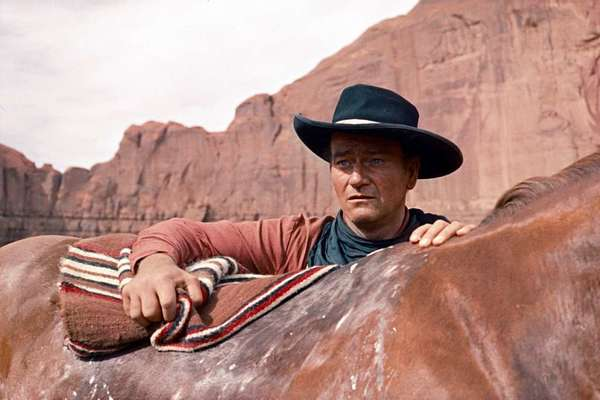 John Wayne in 'The Searchers'