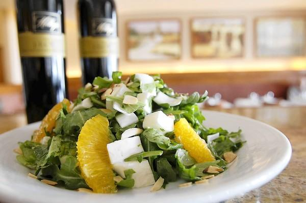 The Isalata Di Arance is a favorite salad at Modo Mio Cucina Rustica.
