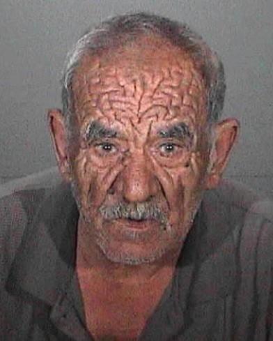 Police booking photo of Martik Yesaian, 81.