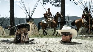 'The Lone Ranger' an Old West washout, reviews say
