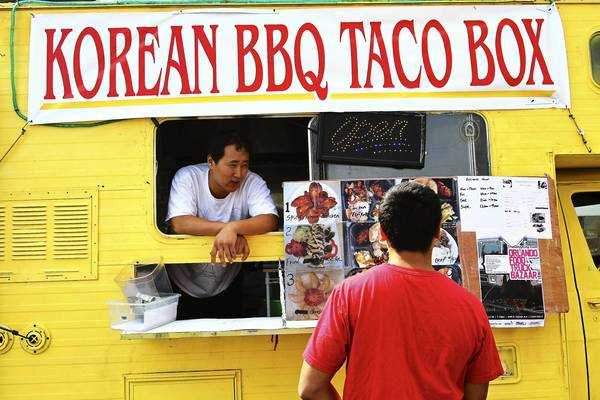 Follow the Korean BBQ Taco Box on Facebook.