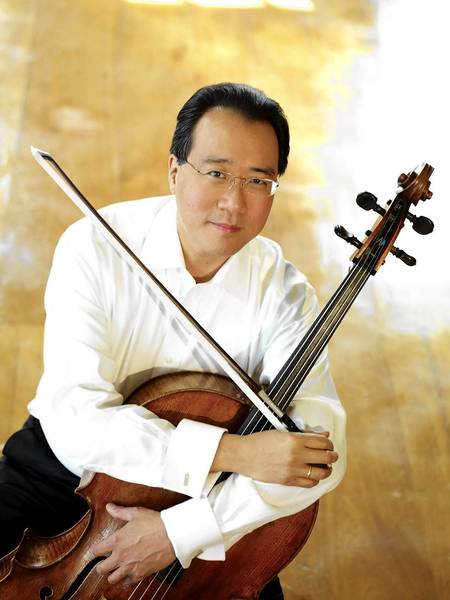 Cellist Yo-Yo Ma founded the Silk Road Project Inc., which supports integrating art into everyday life
