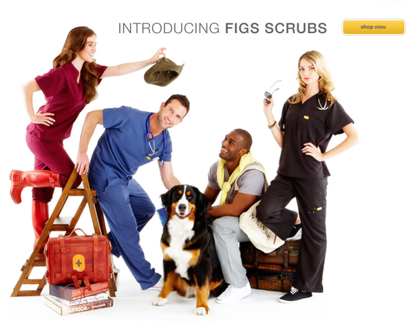 E-commerce start-up Figs is hoping to disrupt the medical clothing industry.