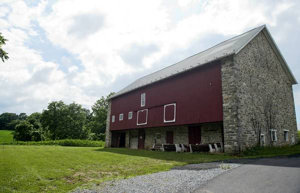 Lower Macungie Commissioners plan to subdivide about 1.5 acres of the township-owned Kratzer farm off Willow Lane in order to sell the buildings on the 86-acre farm.