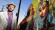 Downtown L.A.'s 'mural mayor' Daniel Lahoda draws praise, controversy