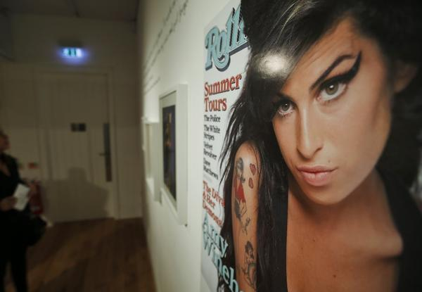 "An exhibition entitled ""Amy Winehouse: A Family Portrait"" is scheduled to run through Sept. 15 at London's Jewish Museum."