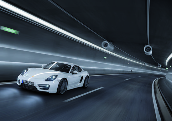 At first glance, the Cayman seems like the essence of Porsche: A simple, fast, gorgeous coupe that stays glued to the pavement.