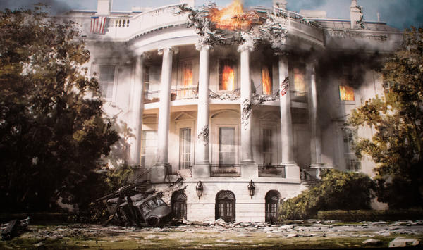 "Columbia Pictures' movie ""White House Down"" stars Channing Tatum and Jamie Foxx."