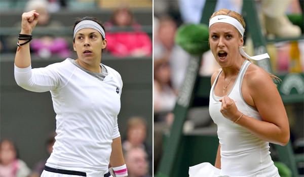 Marion Bartoli and Sabine Lisicki will meet in the Wimbledon final on Saturday.