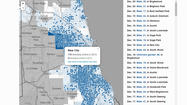 Interactive map of Chicago shootings