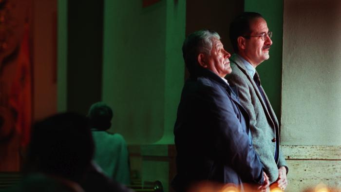 Raymond Rodriguez with coauthor Francisco Balderrama