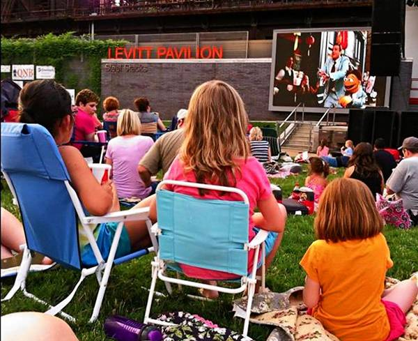 ArtsQuest offers free outdoor movies at SteelStacks most Wednesday nights through the summer.