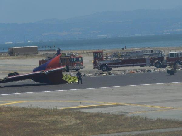 SFO crash