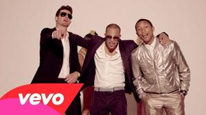 Justin Timberlake and Robin Thicke: Too reliant on NSFW videos?
