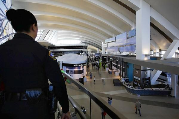 The 50,000-square-foot Great Hall at LAX's Tom Bradley International Terminal is chock-full of renovations - but no movie theater, an airport spokeswoman said. Experts say that's an unrealistic feature.