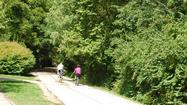 Cyclists on the Monon Trail in Indianapolis.  (Maureen Faul / Indy Parks)