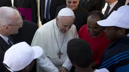 Pope Francis criticizes indifference toward immigrants' plight