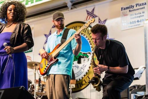 Shaded Soul is the first band to perform at the 2013 Glastonbury Riverfest Music Fest.